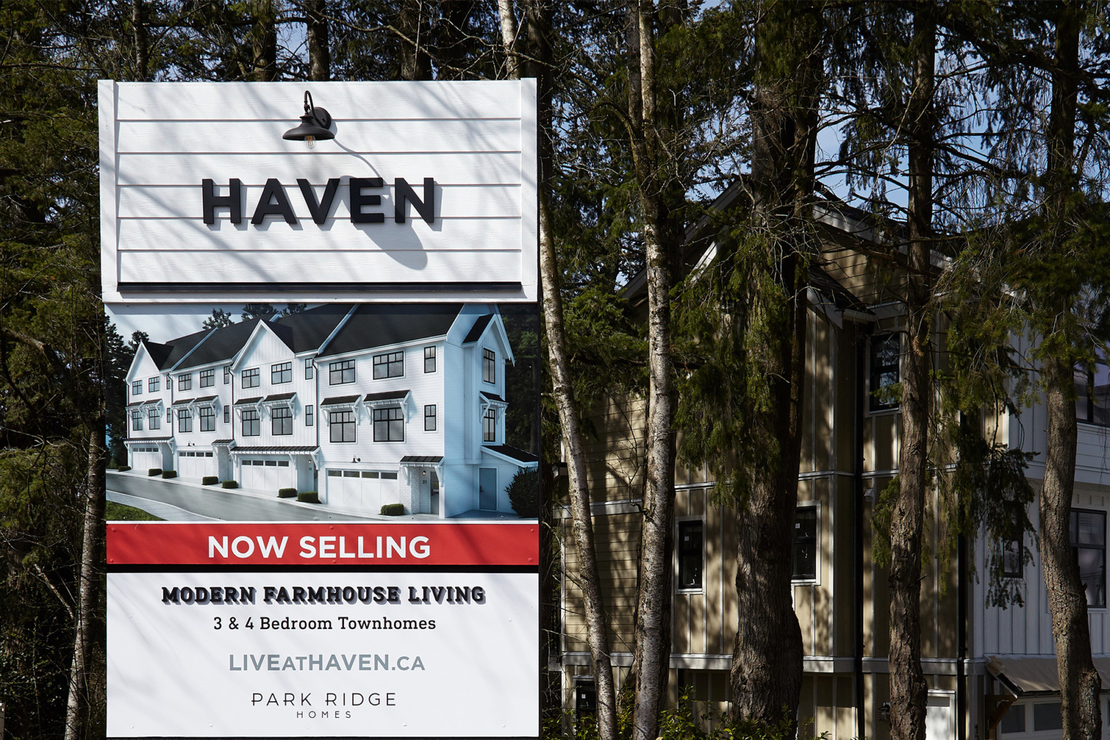 Haven real estate main signage