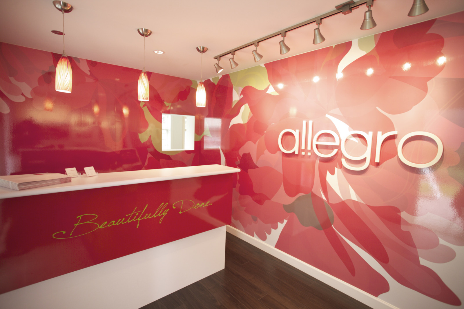 Allegro Sales Centre Welcome Area
